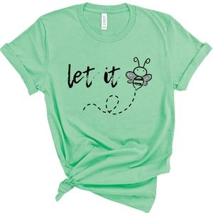Quotes About Being Yourself Let it Be Mint Color